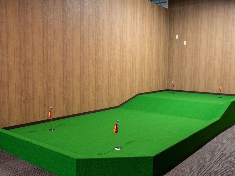 新潟インドアゴルフパターコーナー